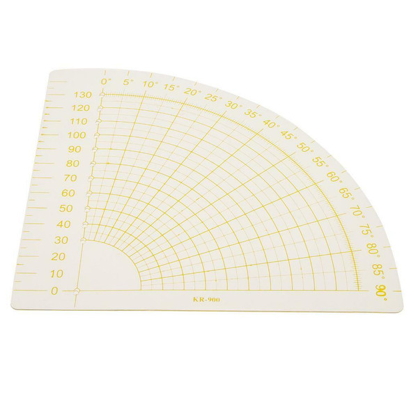 4Pcs Assorted Sizes Hard Plastic Ruler for Sewing Quilting Patchwork Tools