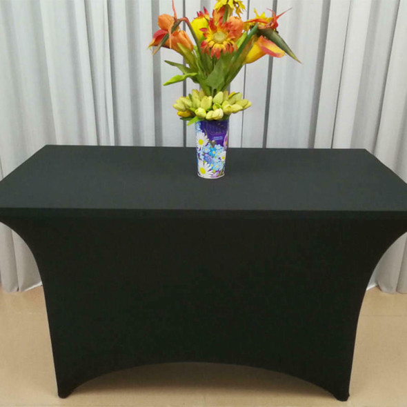 Utopia Kitchen Rectangular Stretch Tablecloth Spandex Tight Fit Table Cover VOG