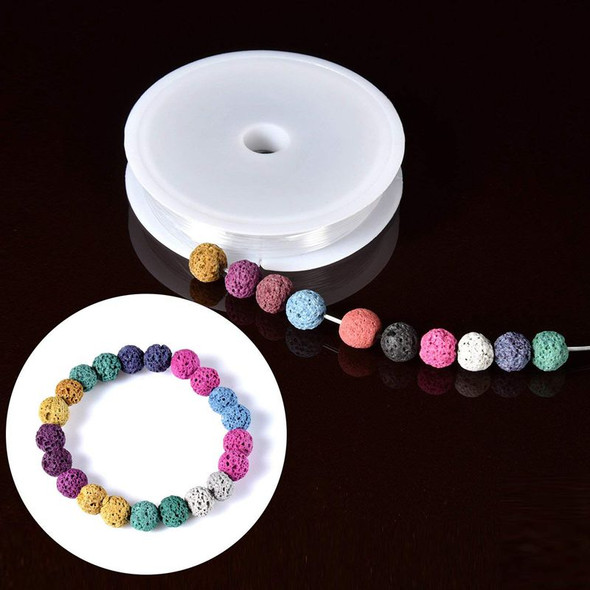 400 Pieces Assorted Colored Lava Rock Stone Volcanic Beads Spacer Beads withL2G1