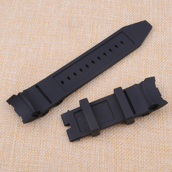26mm Rubber Watch Strap Band fit for Invicta Pro Diver Chronograph Collection Hf