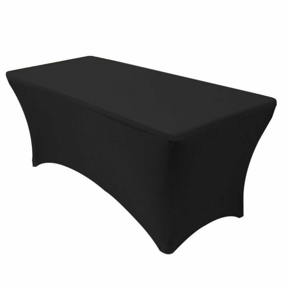 Utopia Kitchen Rectangular Stretch Tablecloth Spandex Tight Fit Table Cover PXB