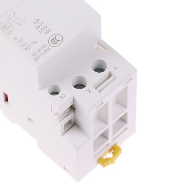2P 40A 220V 50/60HZ Din rail Household ac contactor 2NOBX