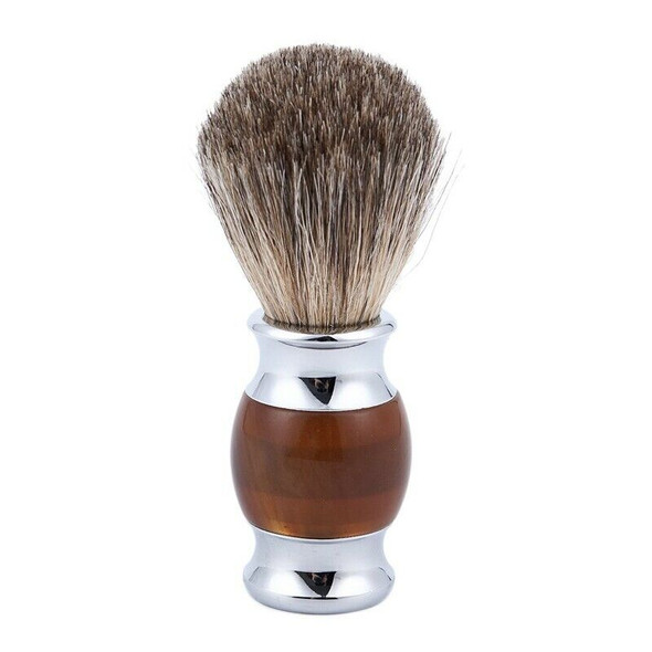 Badger shaving brush men professional haircut beard face cleaning appliance D6E5