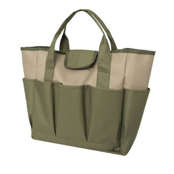 Garden Plant Tool Container Gardening Tools Organizer Tote Bag Carrier New Q3P4