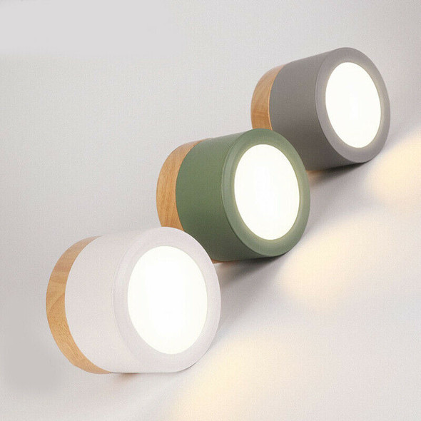 Led Ceiling Spot Light For Ceiling Lamps Lighting Fixtures Led 5W Wood Down Q9Y2