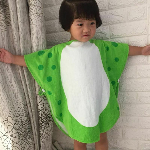 Children Bath Towel Robe Kids Hooded Beach Swimming Poncho Dinosaur Pattern W7G6