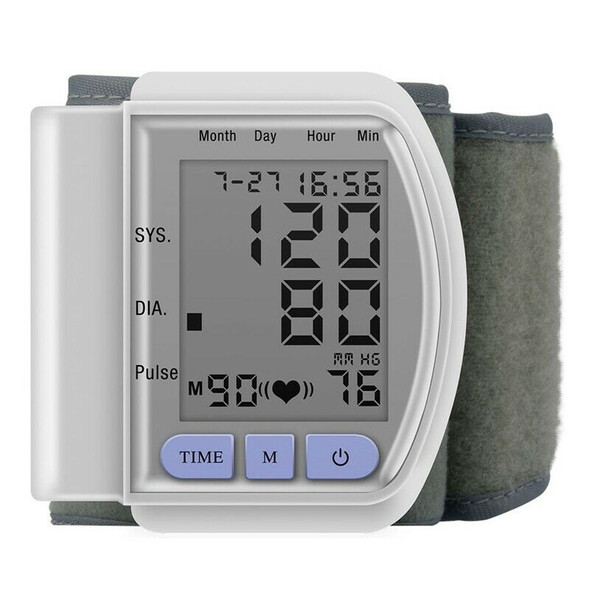 Lcd Wrist Bp Blood Pressure Monitor Pulse Rate Fitness Blood Pressure Tonom T5S8