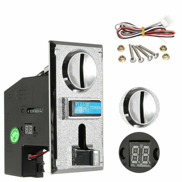Multi Coin Acceptor Selector for Mechanism Vending Machine Mech Arcade Game W1P3