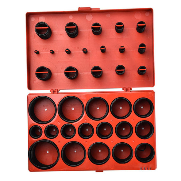 Rubber Gasket O-ring Kit Automotive Seal Universal 419 Pieces Assortment Set