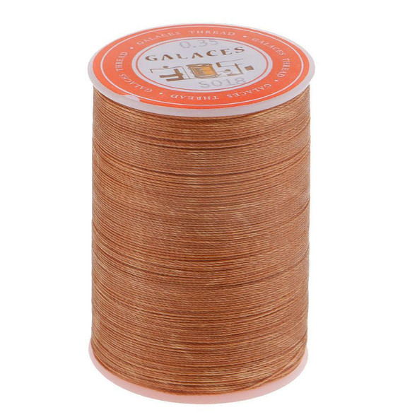 4pcs 300M 0.35mm Round Waxed Thread Wax String DIY Leather Sewing Stitching