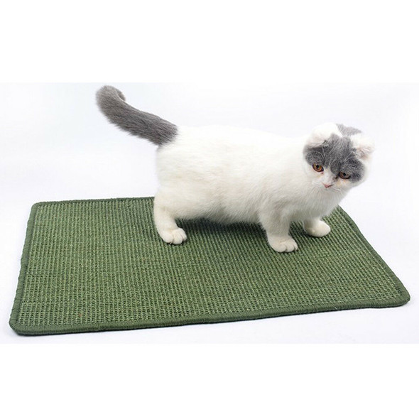 Sisal Cat Scratching Mat Scratcher Cat Litter Mat for Kitty Grinding Claws