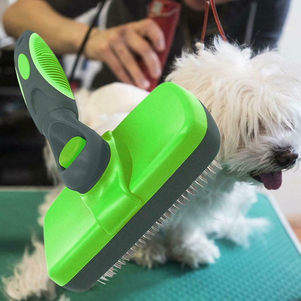 Pet Dog Hair Grooming Brush Fur Removal Trimming Comb Pet Cleaning Beauty Tools