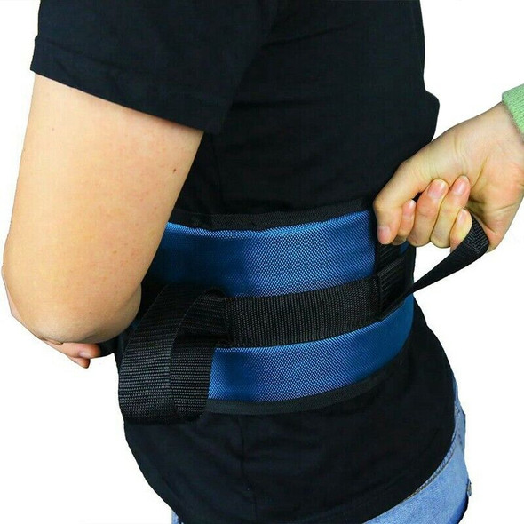 Transfer Gait Belt with 4 Handles - Quick Release Buckle for Elderly and Pa N6K9