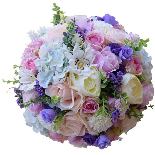 Roses Wedding Bouquet Bridesmaid Bouquet Bridal Bouquet Artificial Flowers  J5R7