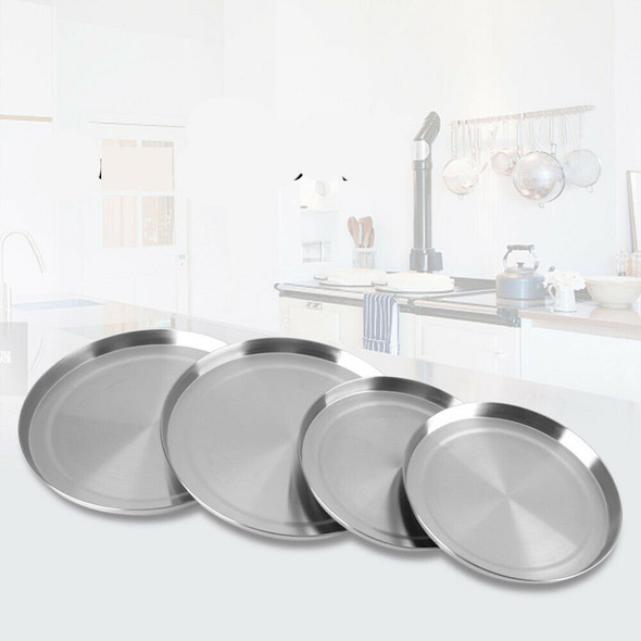 4Pcs/Set Stainless Steel Kitchen Stove Top Covers Burner Round Cooker Prote J7A7