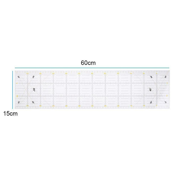 DIY Acrylic Handmade Quilting Ruler Seam Sewing Patchwork Drawing Rulers #JT1
