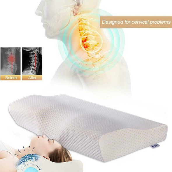Slow Rebound Memory Foam Pillow Cervical Contour Pillow For Neck Anti Snore Nice