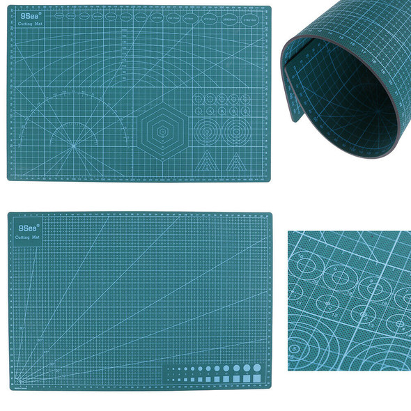 A3 PVC Self Healing Cutting Mat Double-sided Fabric Leather Paper Craft Tool  BX