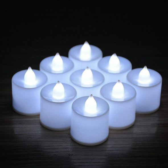24 x Led Candles Lights Mini Plastic Flameless Candles For Decorations Fest P1A8