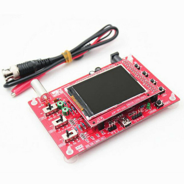 Fully Assembled DSO138 2.4 inch TFT Display Digital Oscilloscope + Probe