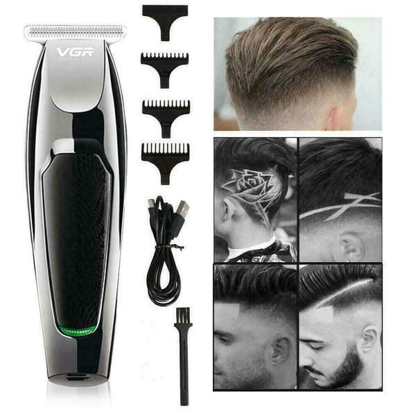 Professional Rechargeable Hair Clipper trimmer Men Haircut Kit Grooming B8A9