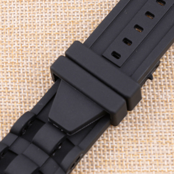 26mm Rubber Watch Strap Band fit for Invicta Pro Diver Chronograph Collect hf