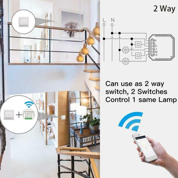 WiFi Smart Light Switch DIY Circuit Universal Breaker Module for Voice Box AU