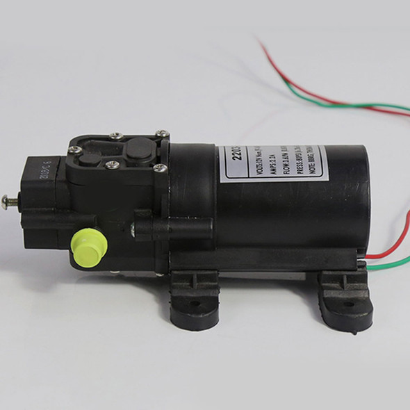 1x DC Micro Diaphragm High Pressure Water Pump Automatic Switch 70W 130psi New