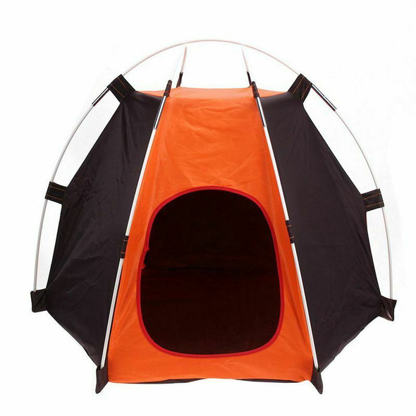 Portable Folding Camping Pet tent Dog House Cage Dog Cat Tent Easy Operatio Y4S9