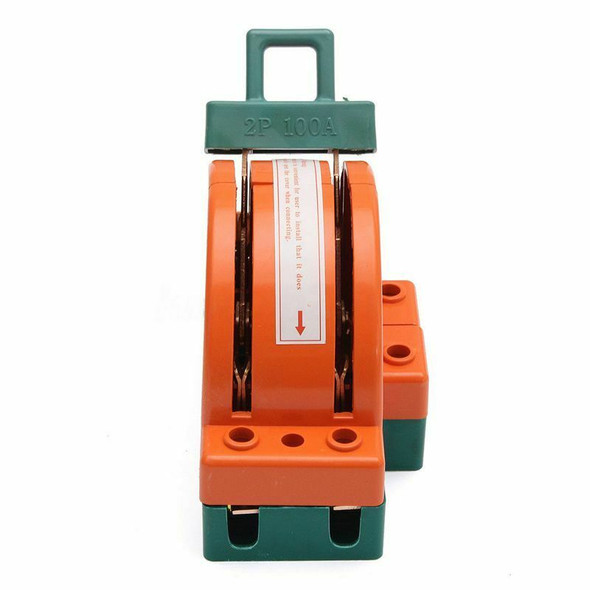 100A Two Pole Disconnect Double Throw Switch for Circuit Breaker Backup Gen L1F5