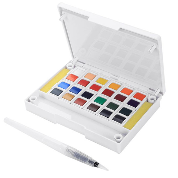 Superior Pigment Solid Watercolor Paints Set Colored Pencils For Drawing Pa S1Z9