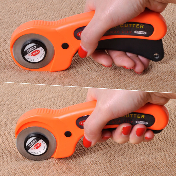 45mm Rotary Cutter 10 Cutting Blade fit for OLFA Fabric Quilt Sewing Craft Tool