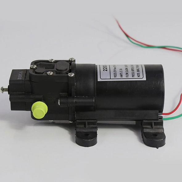 DC 12V Mini Micro Diaphragm High Pressure Water Pump Automatic Switch 70W 130psi