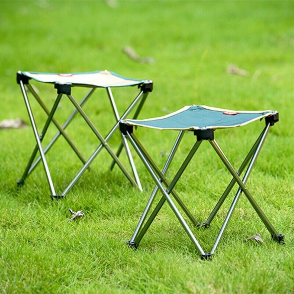Naturehike Khaki Lightweight Portable Folding Camping Stools With Canvas Se S9X3