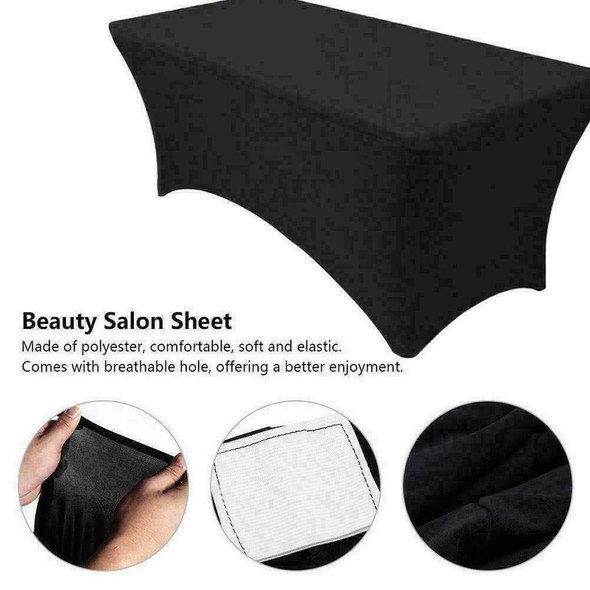 Quality Beauty Salon Eyelash Bed Cover Elastic Cosmetic Cloth Table Salon C A7L8
