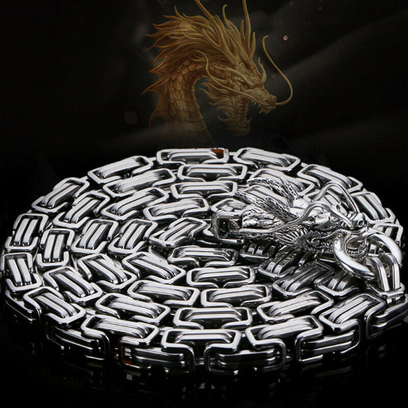 Stainless Steel Outdoor Protection Dragon Hand Bracelet Chain Metallic Whip K1A3