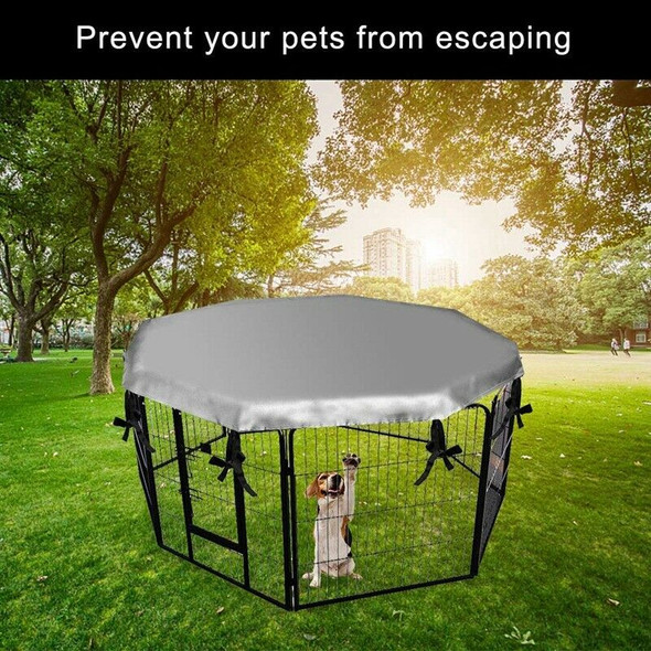 Dog Crate Cover for Outdoor and Indoor- Double Side Waterproof Windproof Sh A1O8