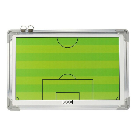 Portable Football Tactic Board Training Guide Double Sided Magnetic Tactic  P1B4