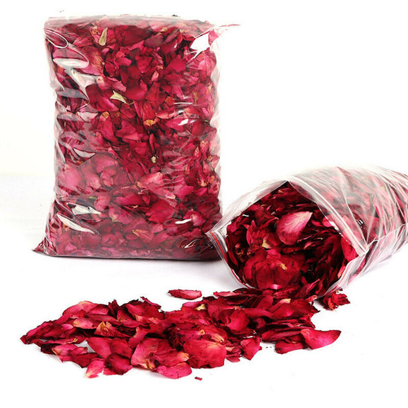 Dry Rose Petals Red Rose Petals Suitable for Shower Foot Bath Wedding Color C3C6