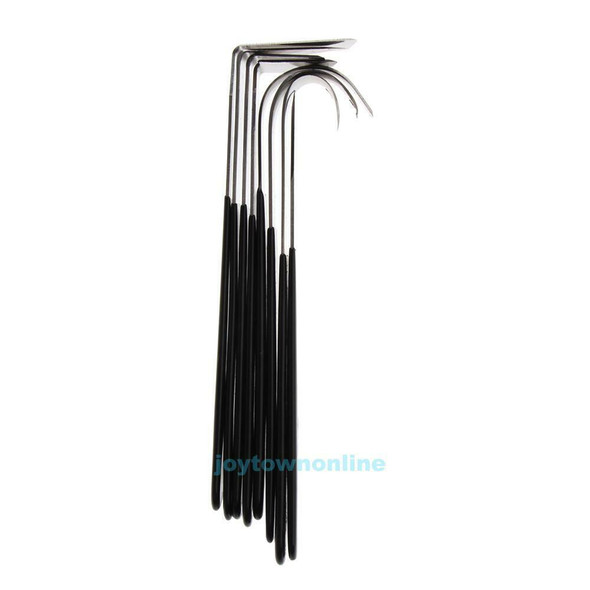 Hot 8pcs/set Stainless Pottery Wax Clay Carvers Carving Fettling Sculpture Tools