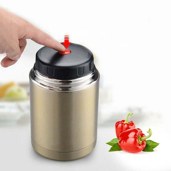Stainless Steel Insulation Lunch Box for Hot Food with Containers 1000Ml Va K6H4