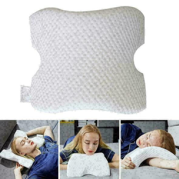 Memory Foam Sleep Neck Pillow Slow Rebound Cervical H Rest New Q2K9 Support M6C3