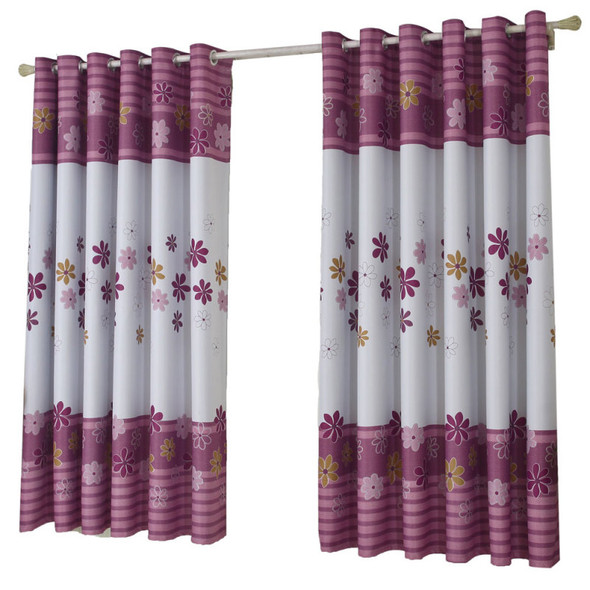 100*200CM shamrock printFloral Tulle Voile Door Window Curtain Drape Pan KZN
