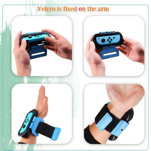 2pcs Adjustable Elastic Band Strap Fit for Nintend Switch JoyCon Just Dance #SFD