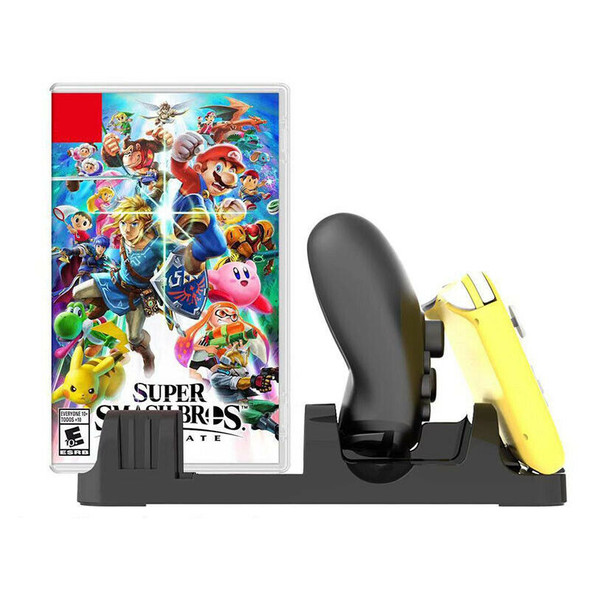 for Nintendo Switch Lite Multi-Functional Charging Dock, Joy-Con Controller H1D8