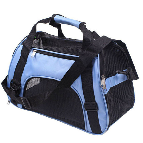 Portable Travel Pet Carrier For Cat Dog Backpack Carrying Handbag Small Dog P6N9