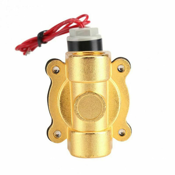 220V DN15 1/2in Electric Normal Closed Valve Electromagnetic Valve for Wate I2O6