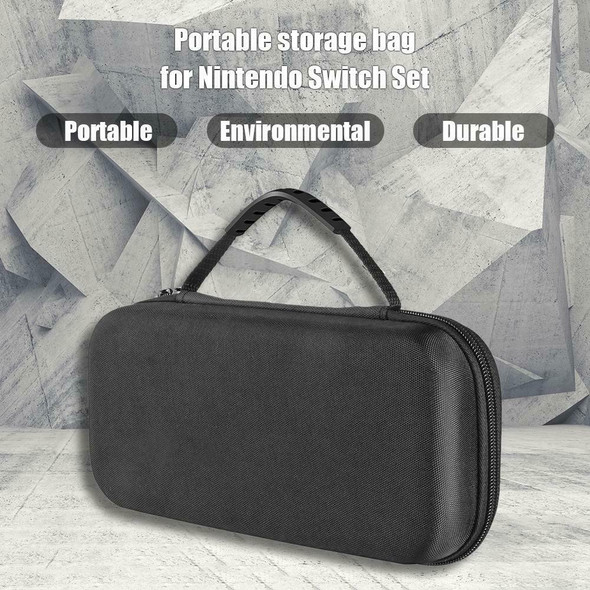 Hard Shell Carrying Bag Case Fit for Nintendo Switch with Film Screen Protector