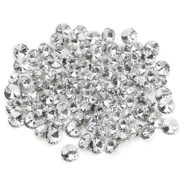 Crystal buckle of 100 pcs for sofa bed head bag clothing decoration - 25 mm T7Z8