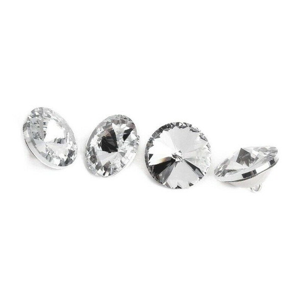 Crystal buckle of 100 pcs for sofa bed head bag clothing decoration - 25 mm E5Y2